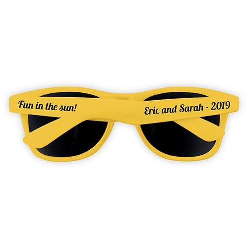 Cool Favor Sunglasses - Yellow